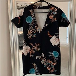 MOVING SALE - Missguided Floral Dress